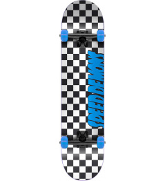 "Skateboard Speed Demons Checkers 7.25 ""Blue"