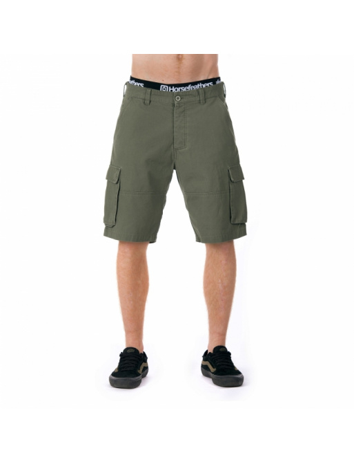Horsefeathers Brill shorts olive 2018 vell.36