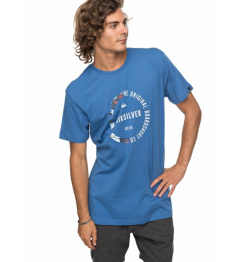 Quiksilver T-shirt Classic Revenge 777 bpc0 bright cobalt 2018 vell.M