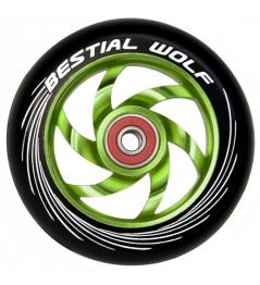 Bestial Wolf Twister wheel 110mm green