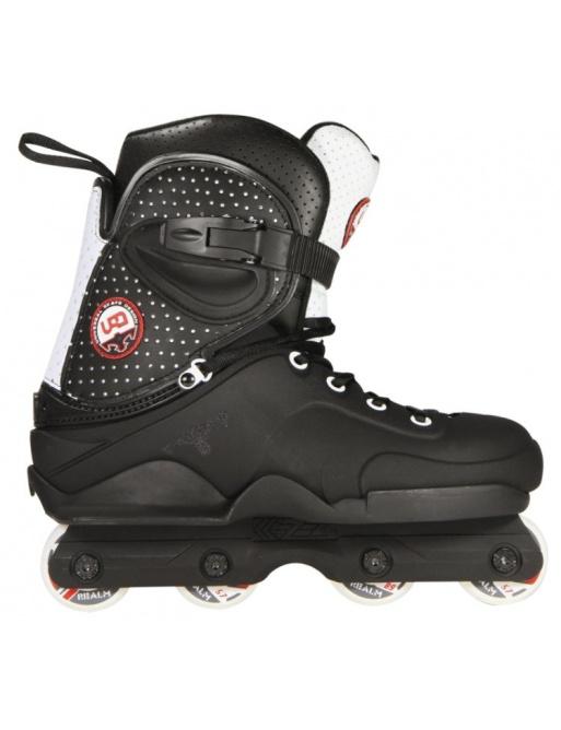 USD Realm Black Roller Skates