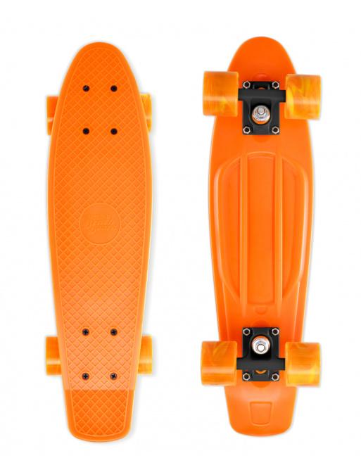 Skateboard Street Surfing BEACH BOARD Gnarly Sunset, orange