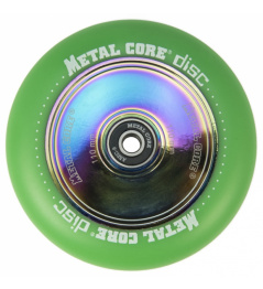 Metal Core Disc 110 mm green wheel
