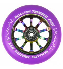 Metal Core Thunder Rainbow 110 mm circle purple